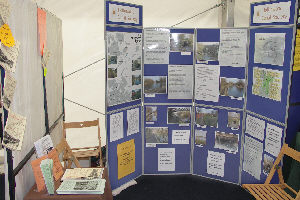 Society display stand at Preston Brook