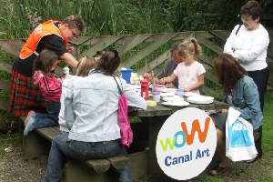 Canal Discovery Day at Daisy Nook