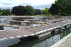 Progress at Droylsden Marina