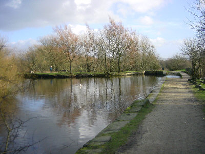 canal junction, Daisy Nook