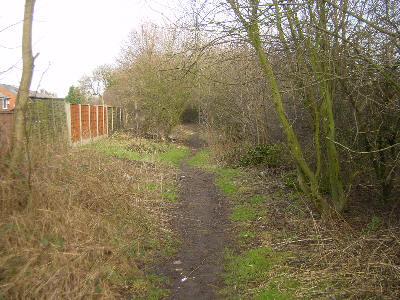 Hollinwood Canal route, Cutler Hill